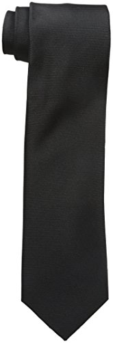 Kenneth Cole Reaction Men's Classic Solid Tie, black, One Size