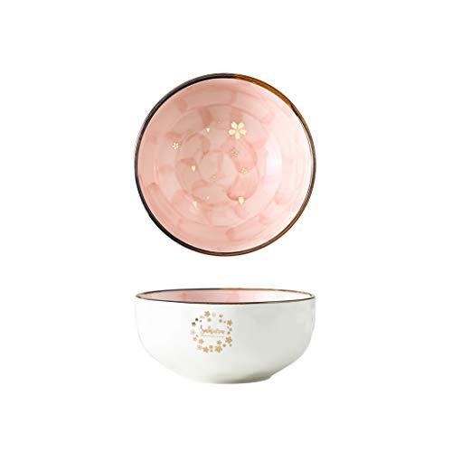 Robuuste Sakura keramische slakom ontbijt keramische kraan leuke avondeten kom huishouden fruitschaal dessertschaal mooi