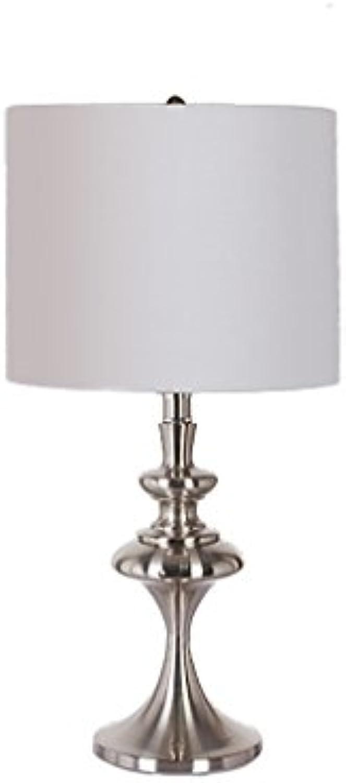 Bügeleisen Tischlampe Retro kreative Studie Lichter Schlafzimmer Bedside Lampe Leuchten Nachtlicht (Farbe   Silber)