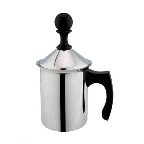 ILSA Breakfast! Cappuccino, Milchaufschäumer, Doppelfilter, Edelstahl 18/10 (Tassen 3)
