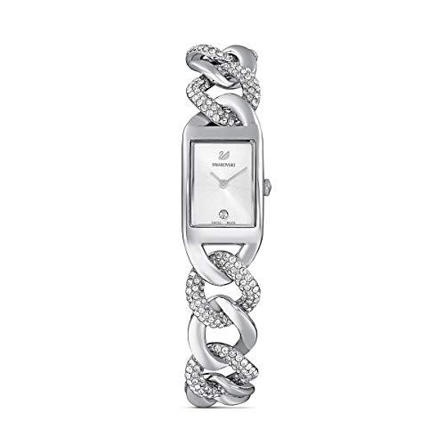 Swarovski Damen-Uhren Analog Quarz One Size Silberfarben 32012332