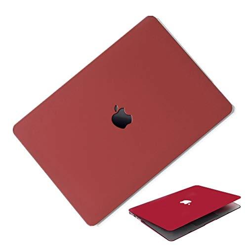 MacBook Air 13インチ A1466/A1369 ケース 2016モデル 2017モデル MacBook Air 13inch ケース マックブックエアー 13インチ ハードケース 耐衝撃 薄型 全面保護 かわいい おしゃれ シェルカバー 薄型 スリム 軽量 マックブック カバー マット ワイン