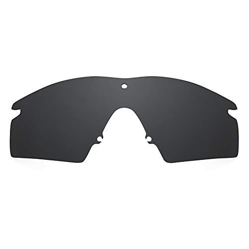 Revant Lenti di Ricambio compatible con Oakley M Frame 2.0 Strike, Non Polarizzate, Nero Stealth