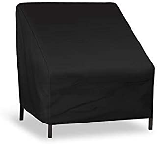 NASUM Patio Seat Cover, Lounge Deep Chair Cover, Durable and Waterproof Outdoor Furniture Chair Cover, Large Seat Patio Ch...