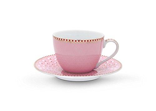 Pip Floral Espresso Tasse mit Untere Bloomingtails pink/rosa