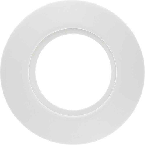 Hager 1x BERK Porzellanrahmen 138169 1fach polarweiss, Weiß