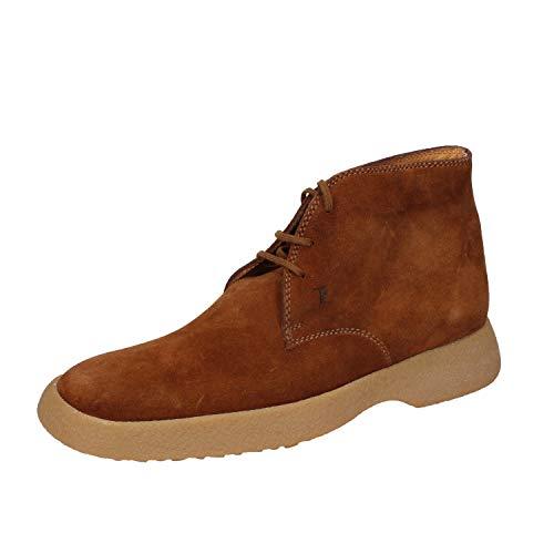 TOD'S botines Hombre gamuza marrón
