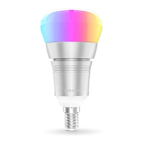 Smart WiFi Light Bulb, Maxcio Alexa Light Bulbs【E14-9W】,...