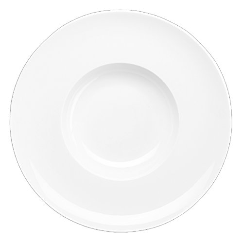 ASA Poletto Á Table Gourmetteller, Porzellan, weiß glänzend, 32.5x32.5x3 cm