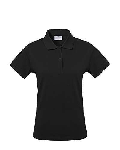 Rossini Trading HH15605HXL dames poloshirt Take Time, zwart, XL