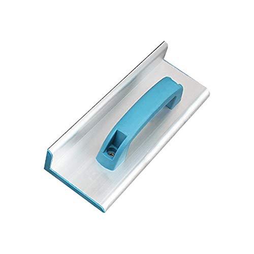 Papel de Lija Soporte con Mango, Mano Lijadora, Aleación de Aluminio Mano Bloque Pulidor Manual Papel de Lija Soporte para Madera, Pladur, Metal Pulido - 25cm