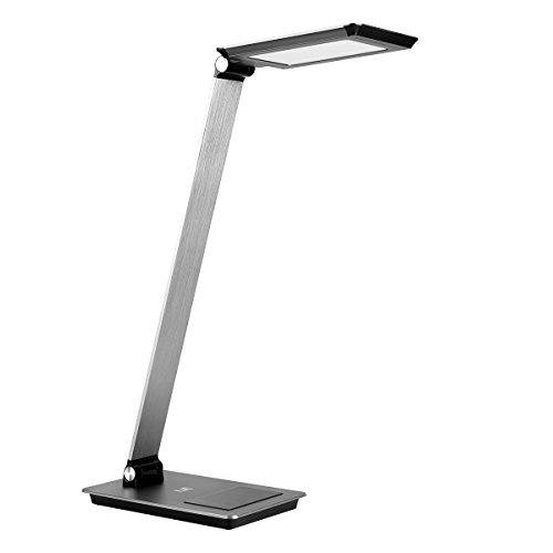 LE - Lampada LED da scrivania, 12 W, dimmerabile, 5 livelli di luminosità, a 3 colori, 500 lm, 100-240 V, ideale per soggiorno, salotto, tavolino da salotto, ufficio