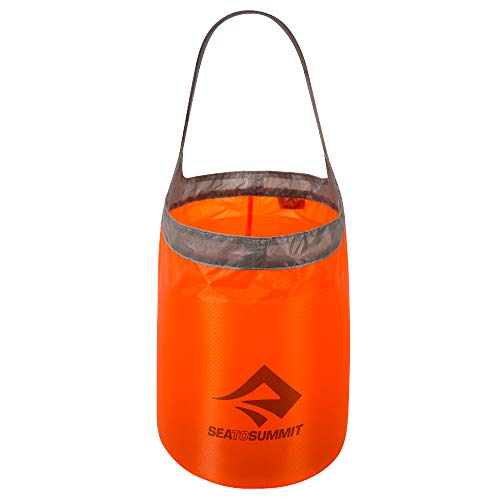 Sea to Summit Folding Bucket - - Ultra-Sil, 10L Rouge bidon