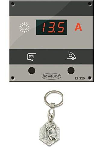 Zisa-Kombi Kontrollpanel LT 320 incl. Anschlussmaterial (93298880238) mit Anhänger Hlg. Christophorus