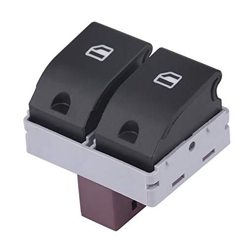 Interruptor de ventana eléctrico, botón de interruptor de ventana eléctrico apto para Seat Ibiza Cordoba 02-09 6Q0959858