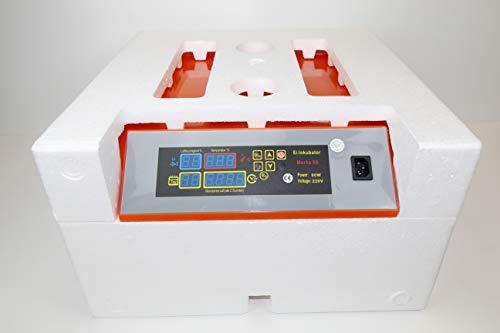 Campo24 Motorbrüter autom Wendung Brutapparat, Inkubator, für bis zu 112 Eier Inkubator (Berta 56) - 4