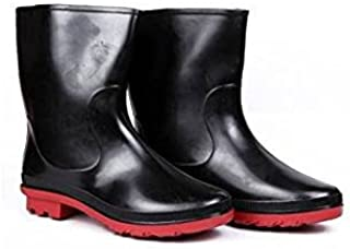 Hillson Don Leather Tech Safety Gumboot With Lining | Industrial Safety Shoe