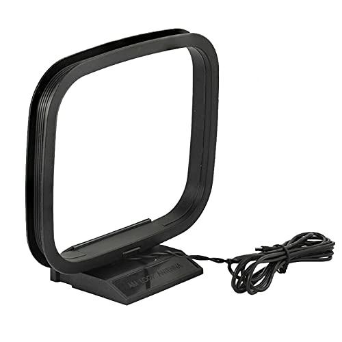 Faderr Antena AM Loop, antena de señal, receptor de señal interior, receptor estéreo de radio Bluetooth, sistema de amplificador de potencia
