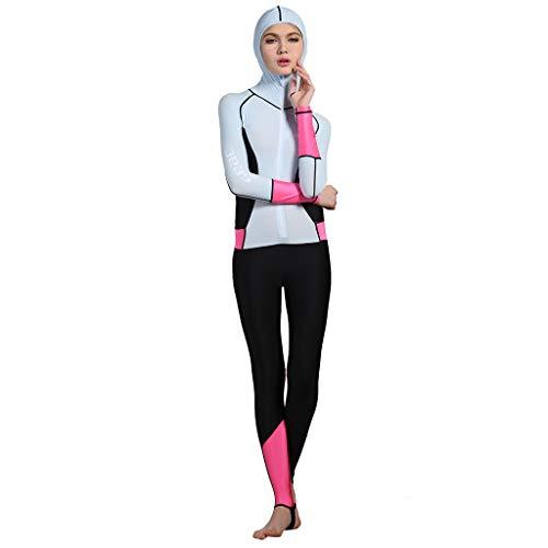 BoyYang Damen UV-Anzug Overall Wassersport Unterzieher Tauchen Schwimmen Damen Tankini Set Bikini Beachwear Bademode Strandmode Großen Größen Badeanzüge
