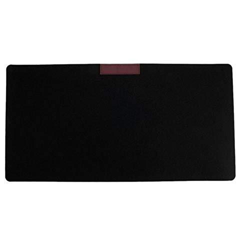 RONSHIN eenvoudige warme vilt doek kantoor tafel computer muis pad bureau toetsenbord muis mat Zwart