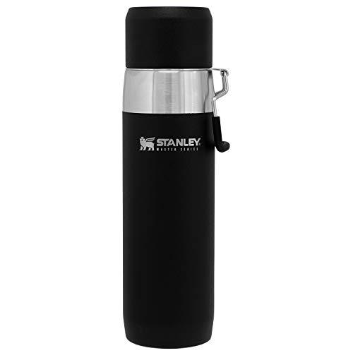 STANLEY(スタンレー) 新ロゴ マスター真空ウォーターボトル 0.65L マットブラック 直飲み 水筒 保冷 アウトドア 保証 03105-017 (日本正規品)