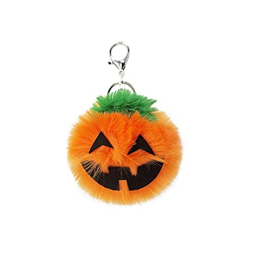 selfdepen Keychain Plush Pendant, Keychain Decoration Halloween Pumpkin Lantern Pendant Suitable For Daily Travel On Holidays