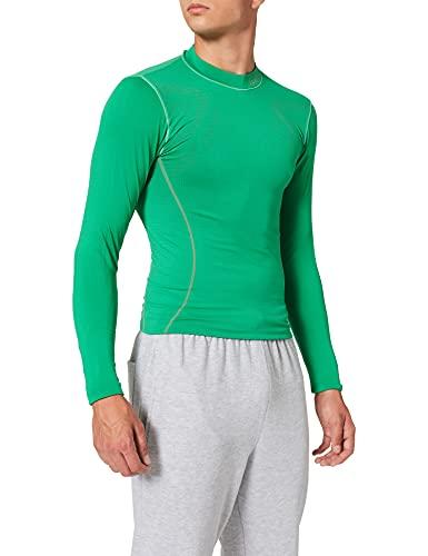 Luanvi Sahara Camiseta térmica, Hombre, Verde, XL