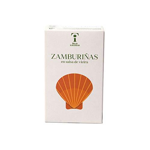 Islas Gallegas - Zamburiñas de las Rías Gallegas en salsa de vieira...
