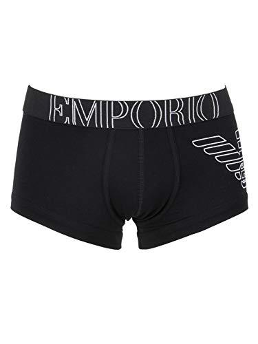 Emporio Armani Underwear Herren 111866CC735 Shorts, Schwarz (Nero 00020), Large