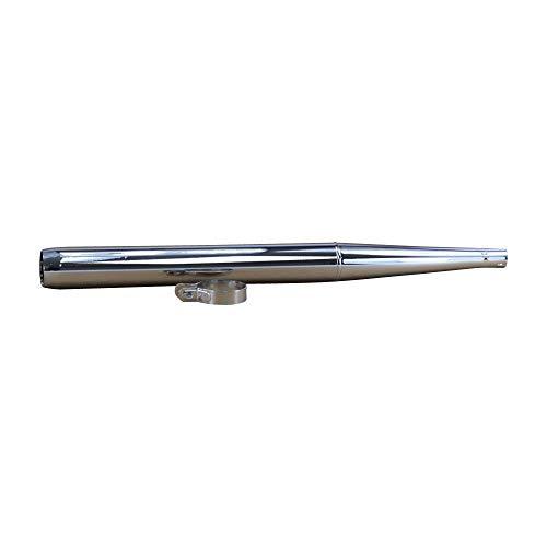 Auspuff Endschalldämpfer für Zündapp ZD 20 30 40 Auspuffendtopf Chrom 60mm