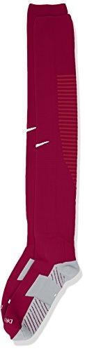 NIKFW|#Nike Nike Herren Stutzenstrumpf Team Matchfit Core OTC, Dynamic Berry/Noble Red/White, L, 800265-570