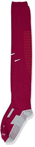 NIKFW|#Nike Nike Herren Stutzenstrumpf Team Matchfit Core OTC, Dynamic Berry/Noble Red/White, L, 800265-570
