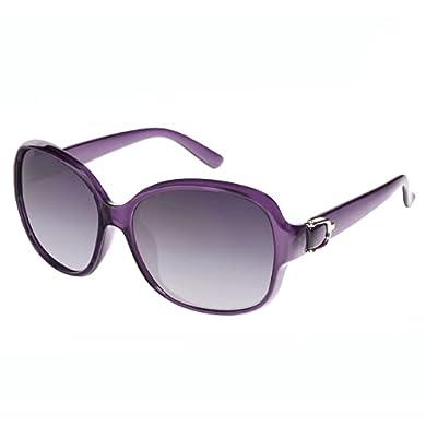 EFE Gafas de Sol Polarizadas para Mujeres Hombres Moda y Elegante Ovaladas de Gran Tamaño Protección UV400 Contra los Rayos Ultravioletas y Luz Brillante para Señoras Violetas a buen precio