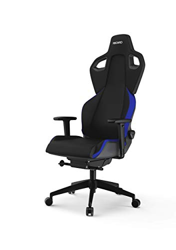 RECARO Exo Gaming Chair | Racing Blue – Ergonomischer, atmungsaktiver Gaming-Stuhl mit Feinjustierung - Designed & Made in Germany