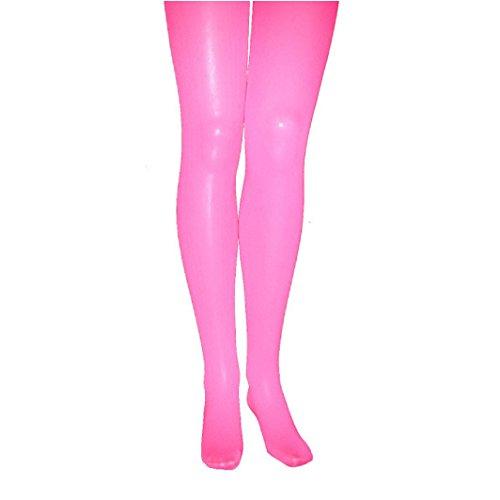 Orlob Karneval GmbH Collants pour Les Enfants Rose, Taille 140/152, Opaque, 60den épaisseur, Pantalon Carnaval