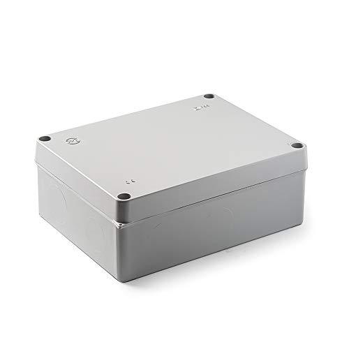 Famatel 3074 Caja estanca IP55 | Sin Conos | 220x170x85 | Gris