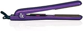 Kor Professional Velvet Soft Touch Series 1.25'' Ceramic Ionic 450F Flat Iron / Violet / Hair Straightner