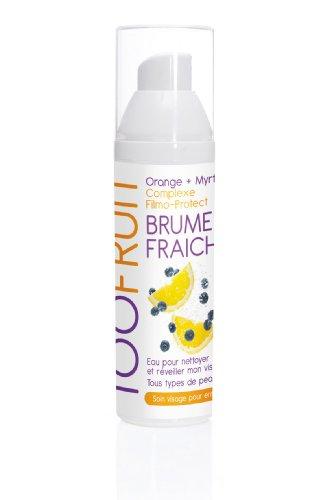 Toofruit - Soin Visage pour Enfant - Brume Fraiche Complexe Filmo-Protect - orange+myrtille - 100ml. A partir de 5 ans