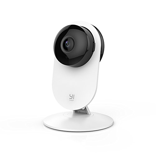 YI 1080p Home Camera, Indoor 2.4G IP Security Surveillance System with 24/7 Emergency Response,...