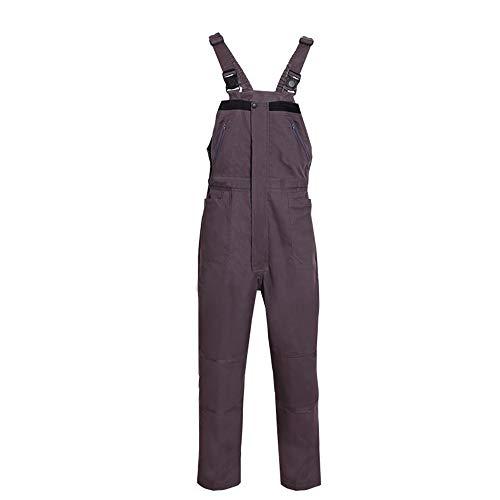 YUNSW Contraste Herramientas De Color Monos Siameses Apertura Frontal Arnés Protector De Mantenimiento Masculino Pantalones Monos