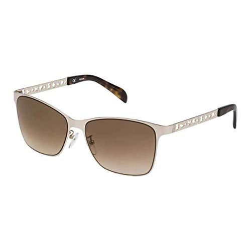 TOUS STO333-57300G Gafas de sol, Shiny Rose Gold, 57 para Mujer