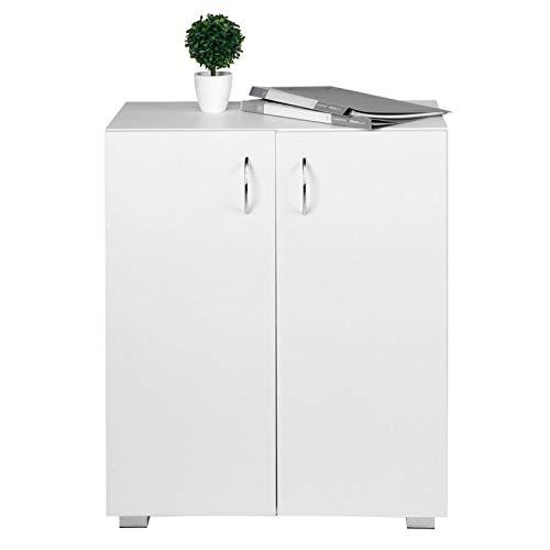 Aparador multifuncional, archivador de madera de doble capa, aparador de almacenamiento, oficina de gran capacidad para la entrada de la sala de estar del hogar