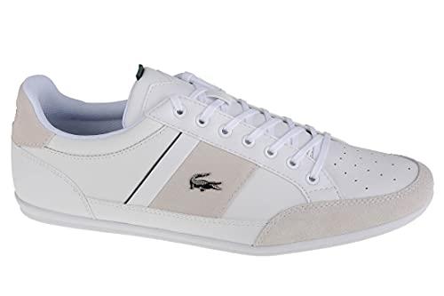 Lacoste 741CMA00641R5_42, Sports, Half Shoes Uomo, White, EU