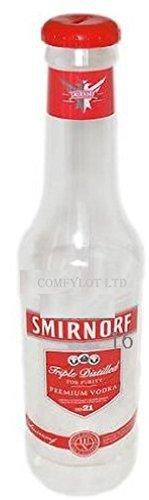 Hucha Comfylot Ltd con diseño de Botella Gigante de Coca Cola, para Ahorro de Dinero, de 60 cm, Brand-Smirnoff, 60cm