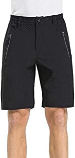 Men's Commuter Urban Casual Cycling Bike Shorts Bundled with Padded Underliner - Two Shorts in One