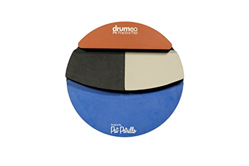 2. The Drumeo P4 Practice Pad