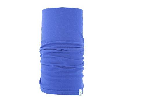 MaxFred - Foulard multifonction en bambou bleu océan