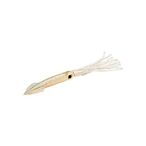 Squids Gummi Tintenfische Angel Köder Norwegen Angeln Meeresköder Heilbutt Dorsch Leng Kunstköder (perlmutt - 25 cm)