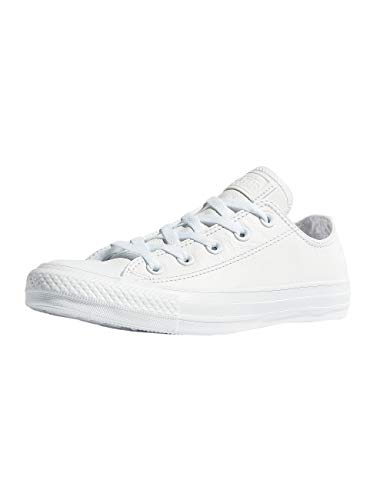 Converse Unisex-Erwachsene Chuck Tailor All Star Sneaker, Weiß (White), 42.5 EU