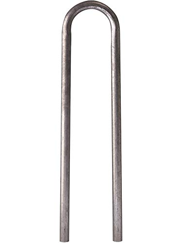 GAH-Alberts 772376 Schutzbügel Universal | zum Einbetonieren | feuerverzinkt | Breite 360 mm | Höhe über Boden 1000 mm